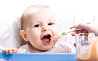 Все о первом прикорме ребенка