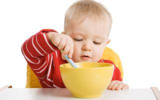 Как приучить малыша есть самостоятельно